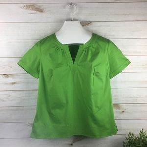 New Talbots Casual Business Holiday Blouse Top